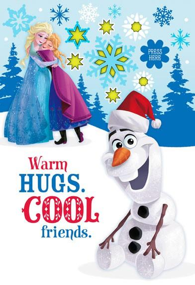 Birthday Card For Husband Disney Frozen Hugs And Friends With Sound And Light