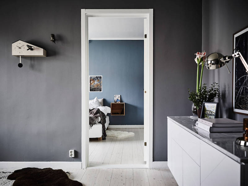 Black Wardrobe Scandinavian Interior Design Trends With A Nice Colorful