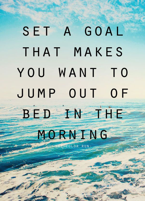 Inspiring Quotes About Life  If your goals don\u0027t excite you, you\u0027ve