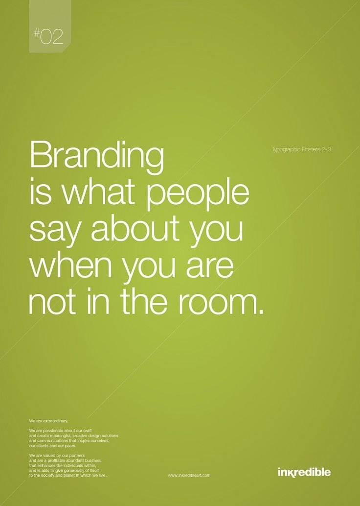Quotes About Leadership  Branding is what people say about you when
