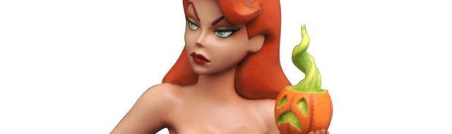 Spotlight: Poison Ivy Statue Visits Gotham Pumpkin Patch