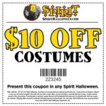 $10 Off $10 Costume Purchase at Spirit Halloween