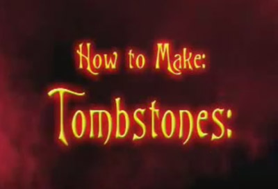 make your own tombstone
