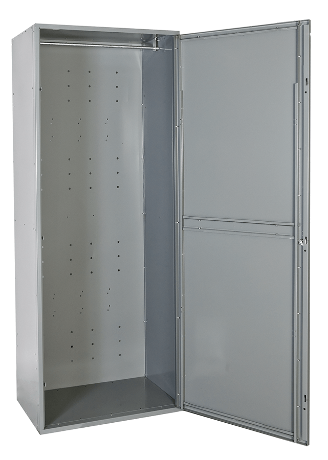 Full Frame Half Frame Uniform Exchange Lockers By Hallowell Uniform Exchange