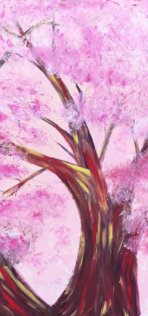 Peach Blossom Painting
