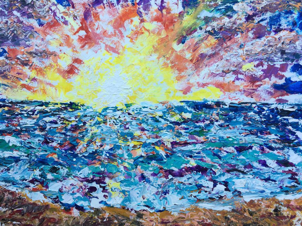 impasto-sunset