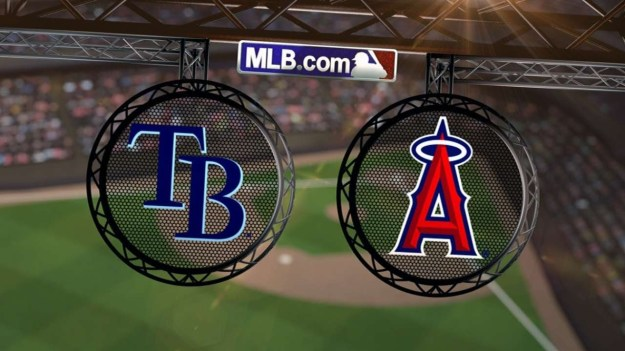 Rays at Angels