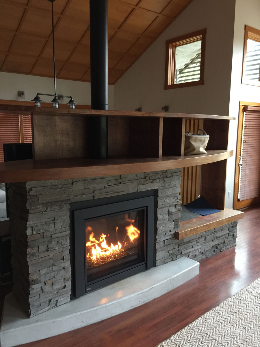 Unique Fireplaces Photo Gallery Haltiner Heating And Sheet Metal Tillamook