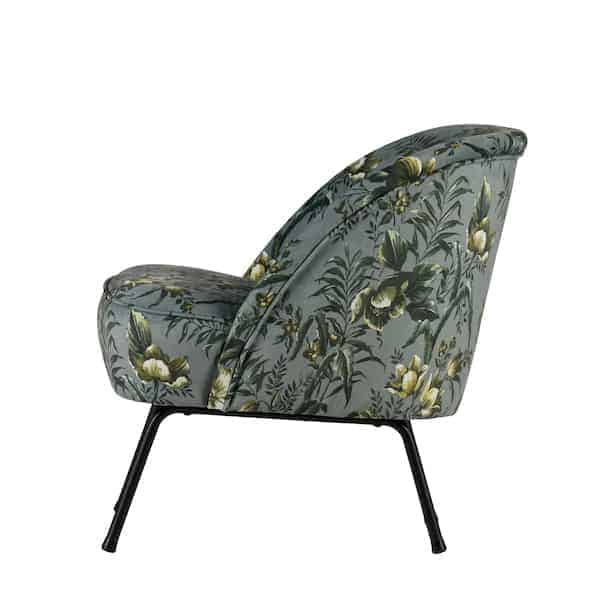 Butterfly Fauteuil Bepurehome Vogue Fauteuil Polyester Poppy Grijs