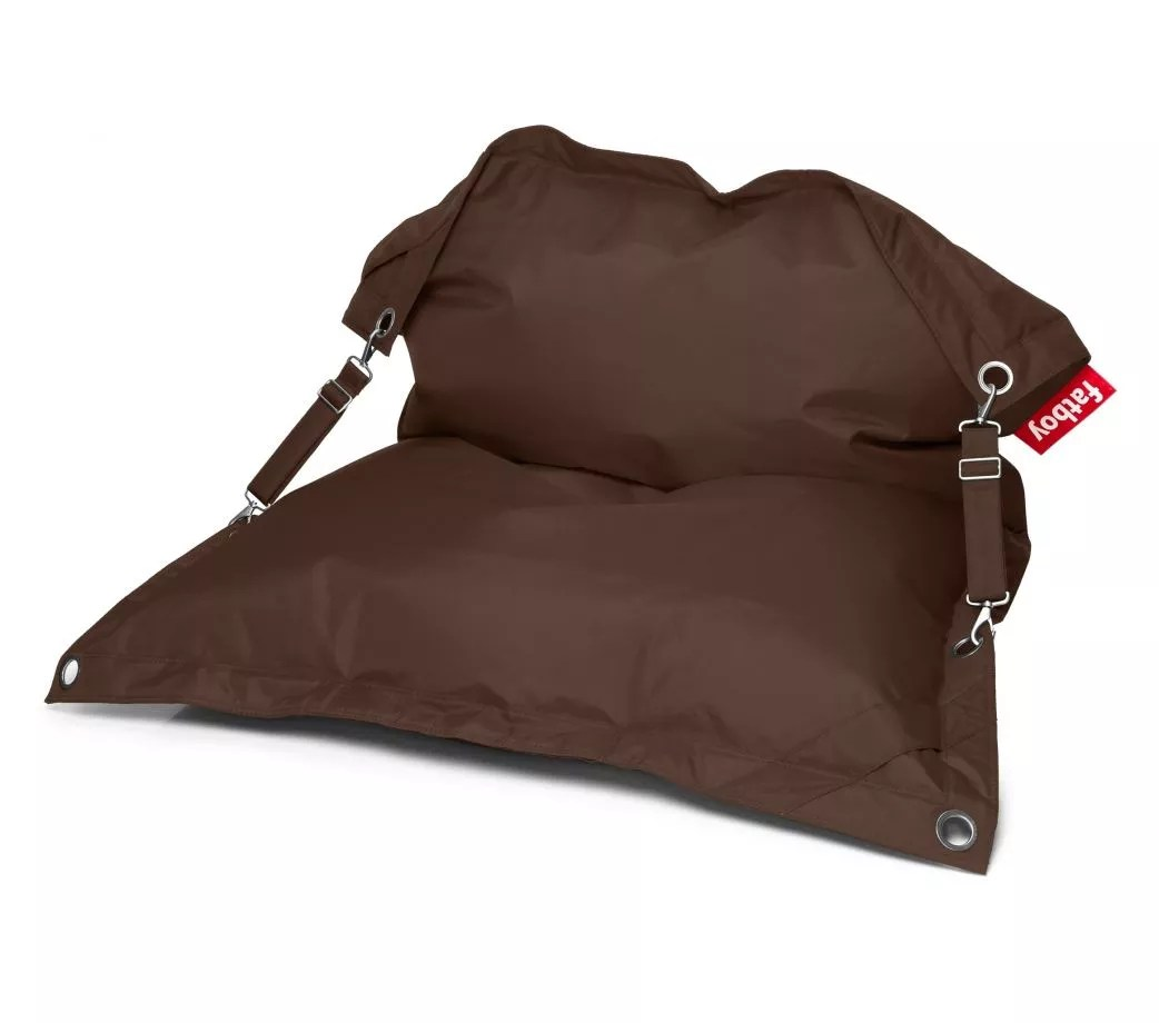 Pouf D 39 Exterieur Fatboy Buggle Up Marron