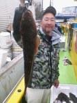 3月23日(土)マゴチ乗合 67㎝スーパーモンスタ級浮上