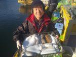 2月12日(水)最大級スミイカと特大モンゴイカ