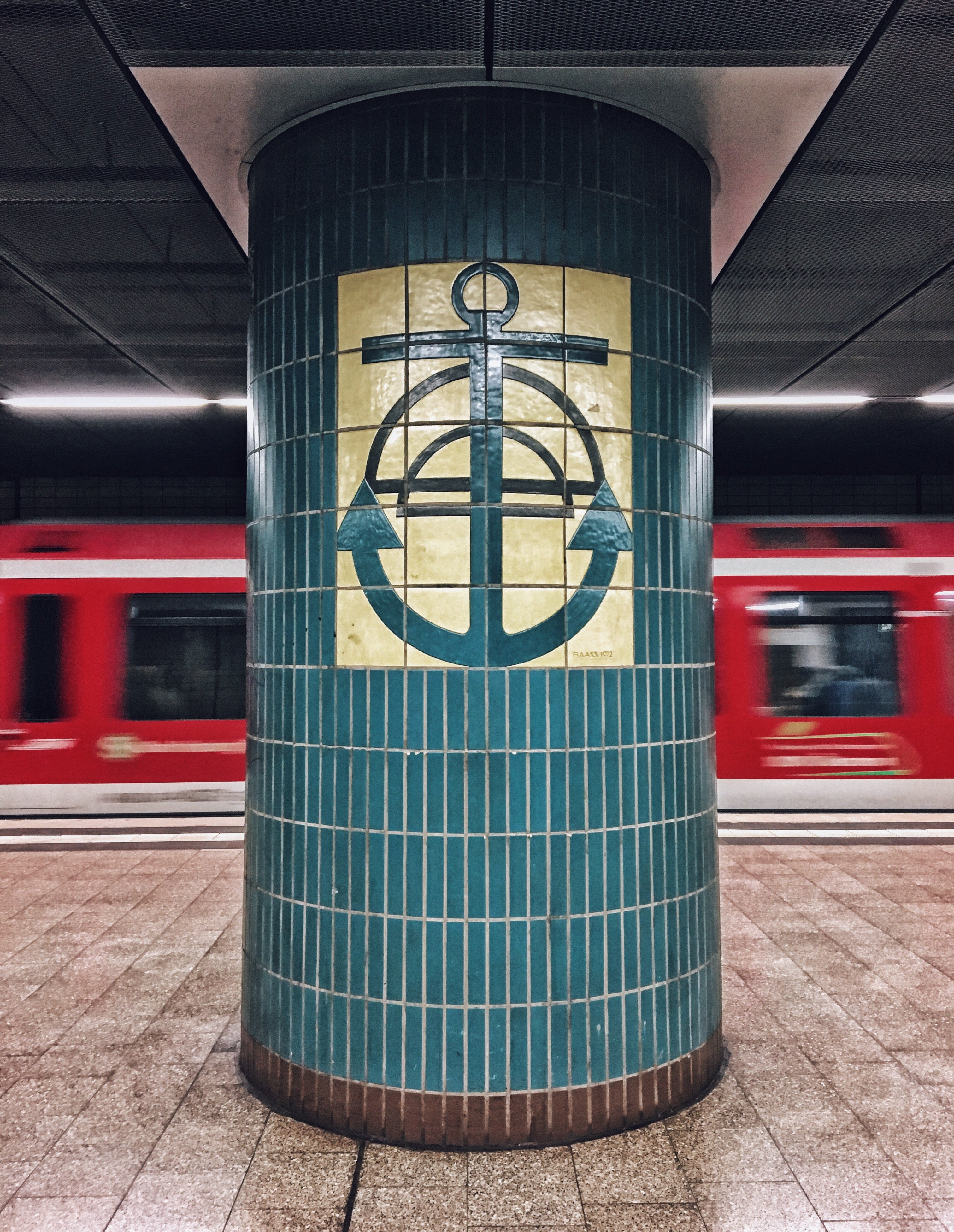 S-bahn Plan Von Hamburg Underground Stations In Hamburg Design From The Underworld