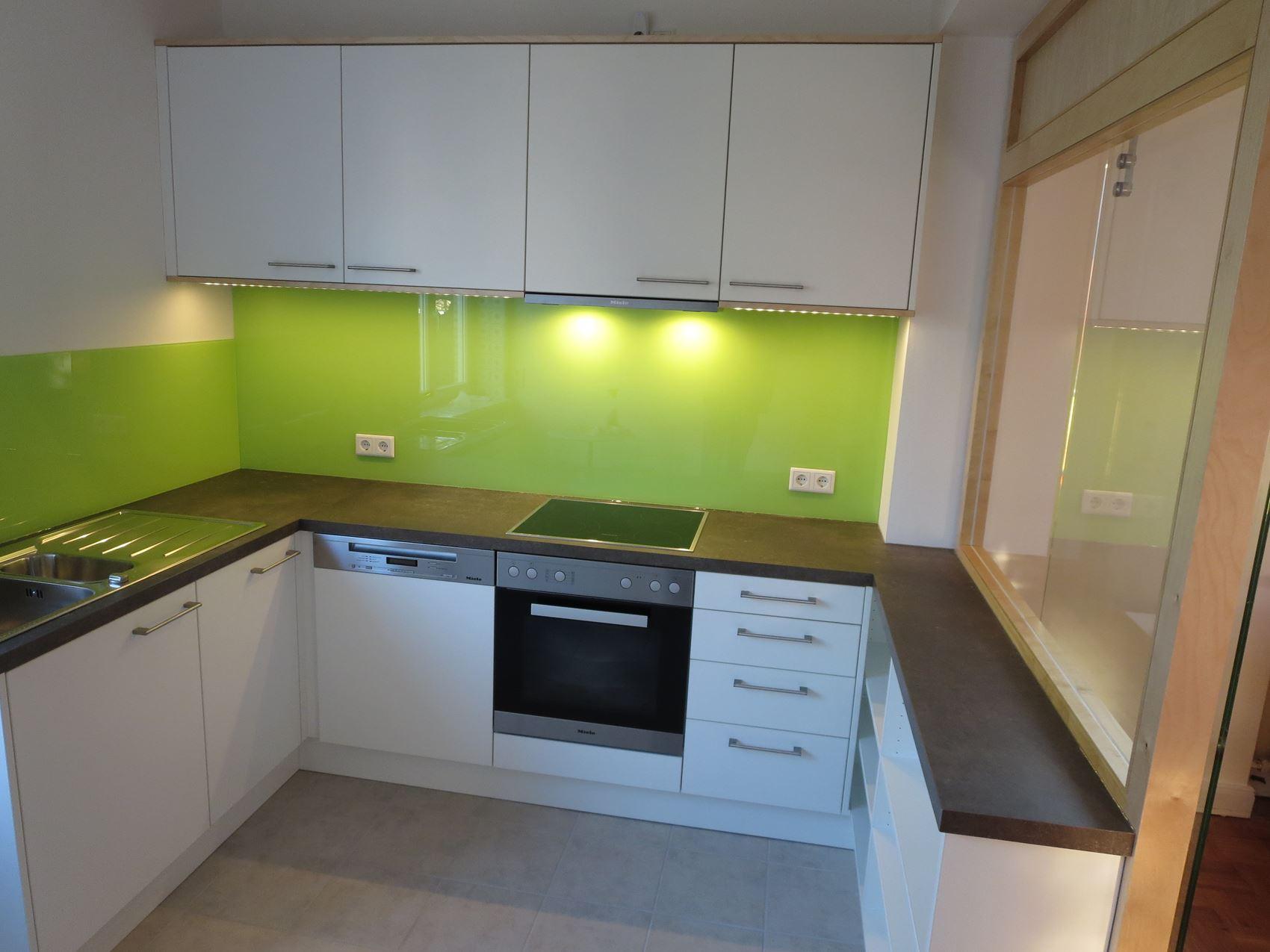 Küche Unterschrank Herd | Kleine Küche Mit Waschmaschine ...
