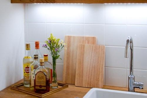 Bilderrahmen Spirituosen Küche