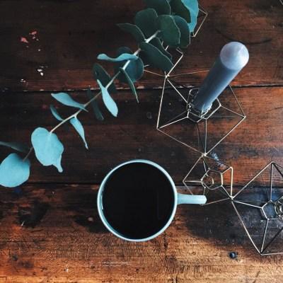 Kaffee Advent Eukalyptus