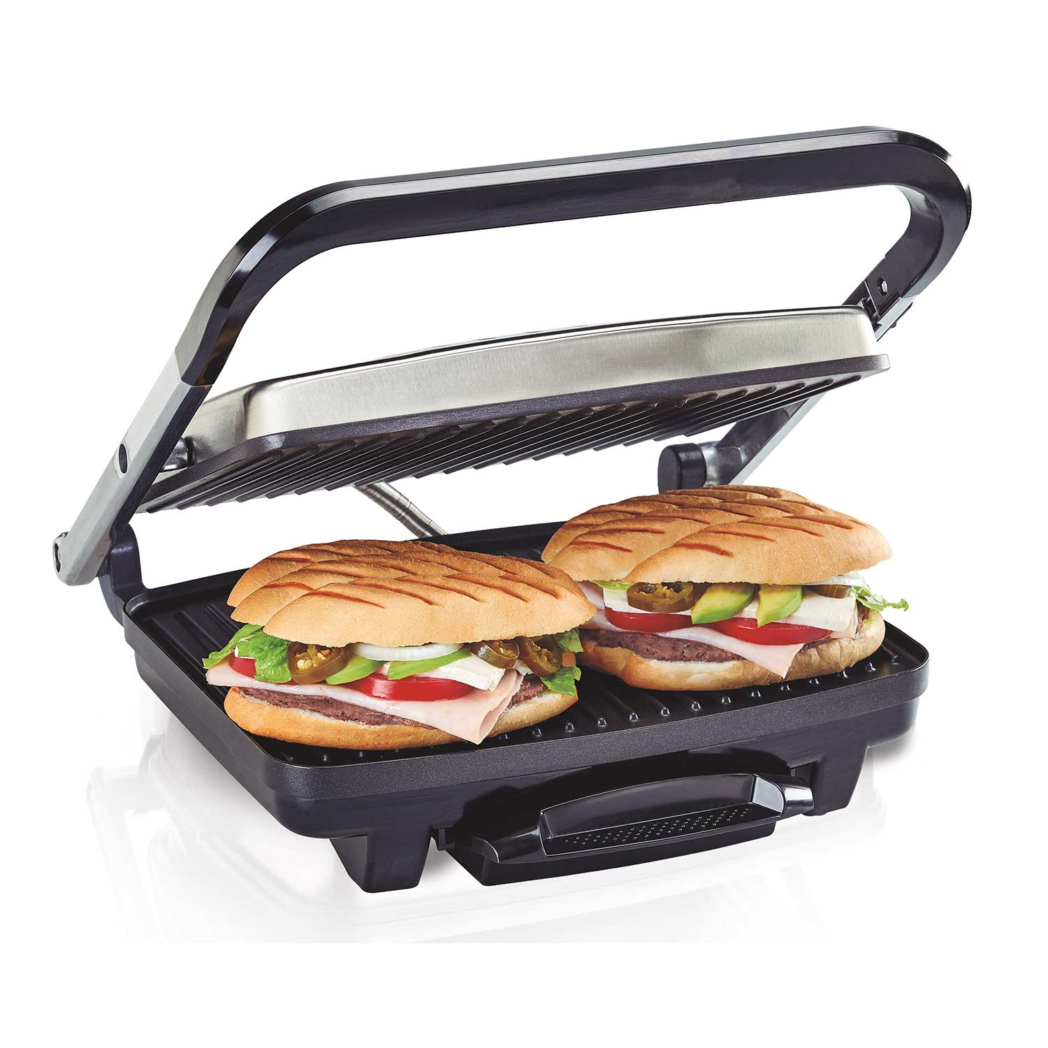 Grille Panini Hamilton Beach Panini Press Indoor Grill 25410