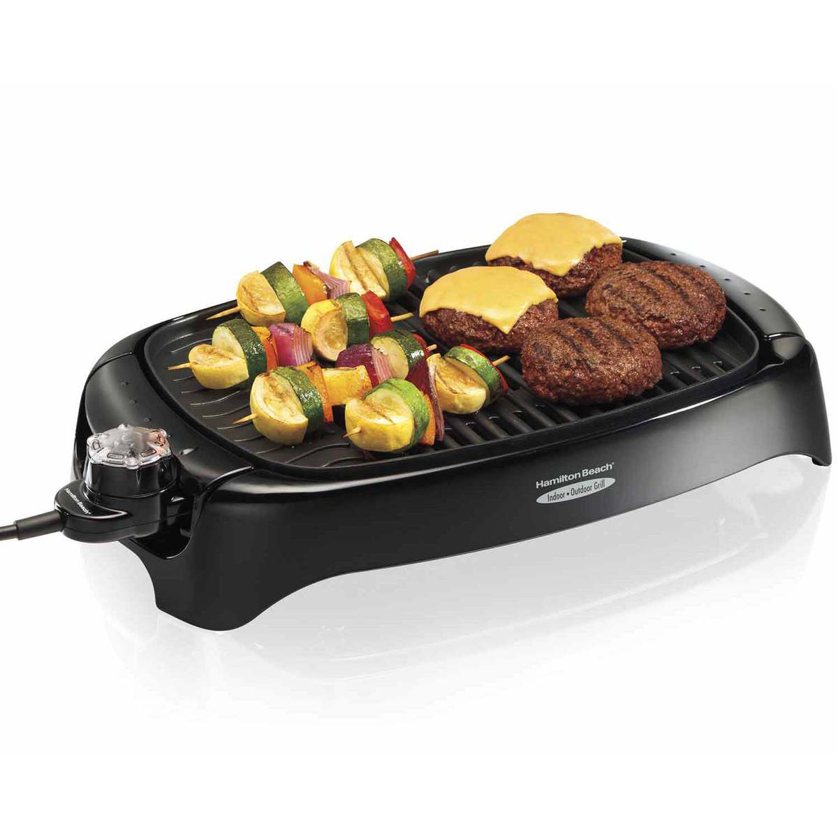 Hamilton Beach Health Smart Indoor Outdoor Grill 31605n - Grill Outdoor