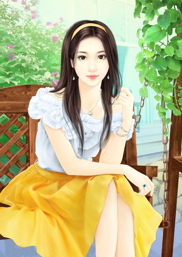 Chinese Girl Painting Wallpaper H 236 Nh Mỹ Nh 226 N Ng 244 N T 236 Nh Hiện đại Phần 7 H 224 M Lan C 225 C