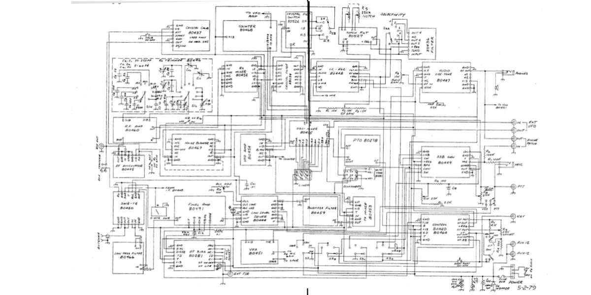 simple wiring diagram for ten tec omni d