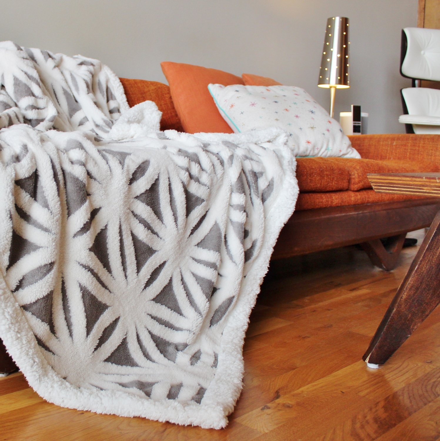 Sofa Throws Retro The Coziest Throw Blankets For Your Mid Century Home