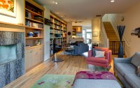 Rowhouse Kitchen & Living Room Remodel in Portland ...