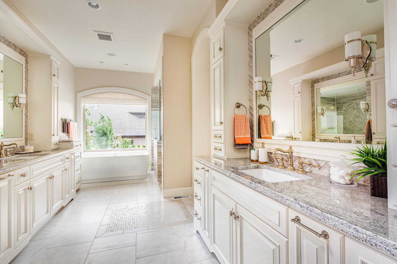 Cute Simple Beach Wallpaper Master Bathroom Remodel Hammer Contractors