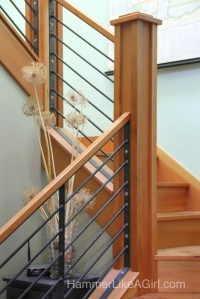 Staircase from Iron and Salvaged Wood - Hammer Like a ...