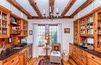 Colonial Reproduction Farmhouse Chandeliers & Rustic ...