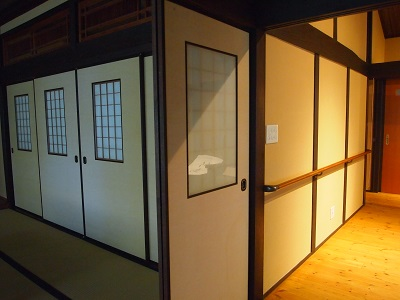 """鬼北の古民家1再生後の廊下の画像""""old-kihoku1-2"""""""