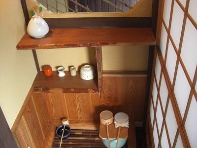 """鬼北の古民家1再生後の茶道具置き場の画像""""old-kihoku1-4"""""""