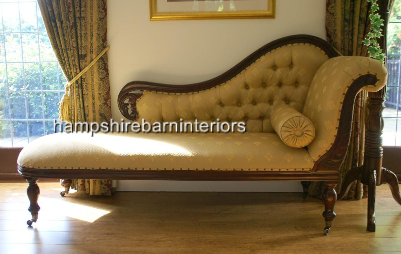 Living Room Sofa Sets Classical Victorian Style Gold Chaise Longue With Castors