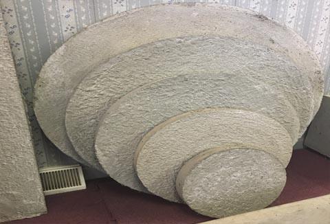 Hampton Concrete Products Precast Concrete Patio Stones