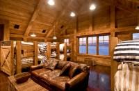 Industrial Rustic Bunk Room - Hamptons Habitat