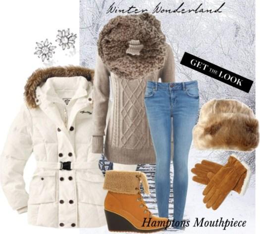 Hamptons Style: Winter Fashion