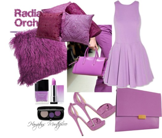 Radiant Orchid Pantone 2014 Color