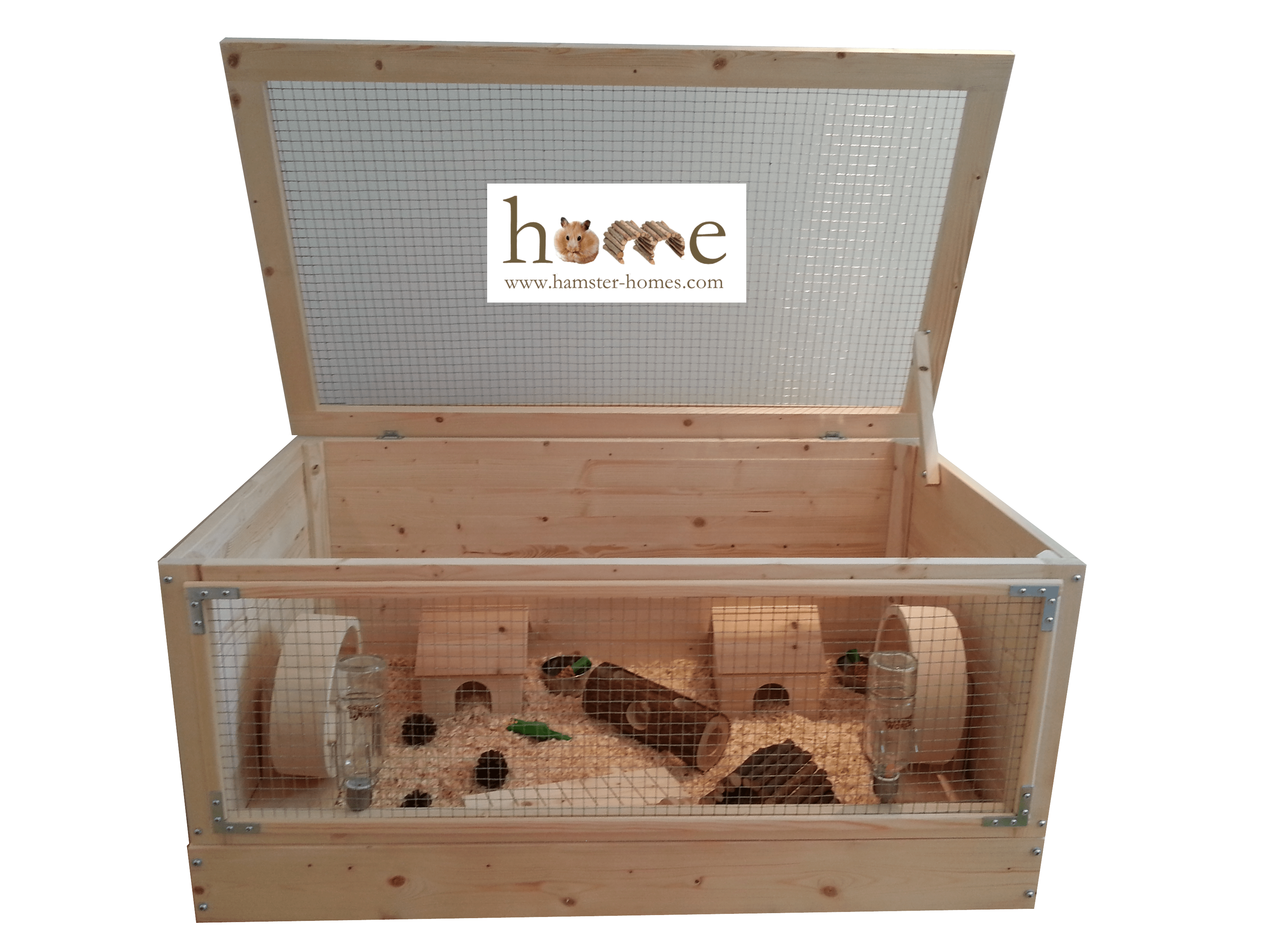 90 Cm Wooden Hamster Cage Extra Large 90cm Made In The Uk