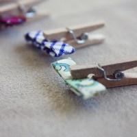 tiny bow ties!