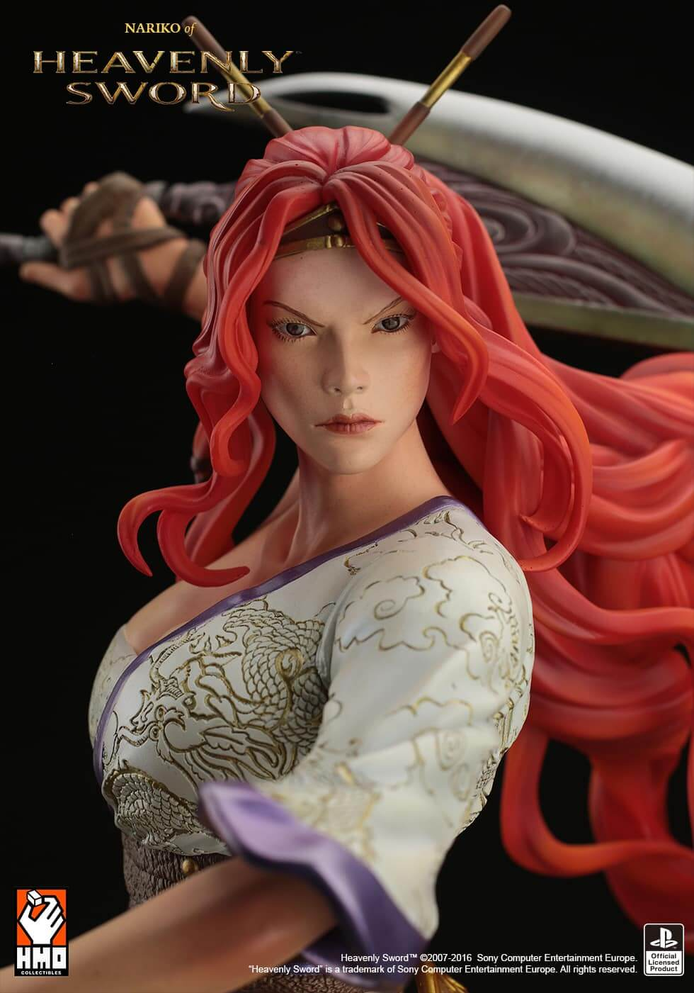 Fire Dragon Wallpapers 3d Heavenly Sword Nariko H M O Collectibles