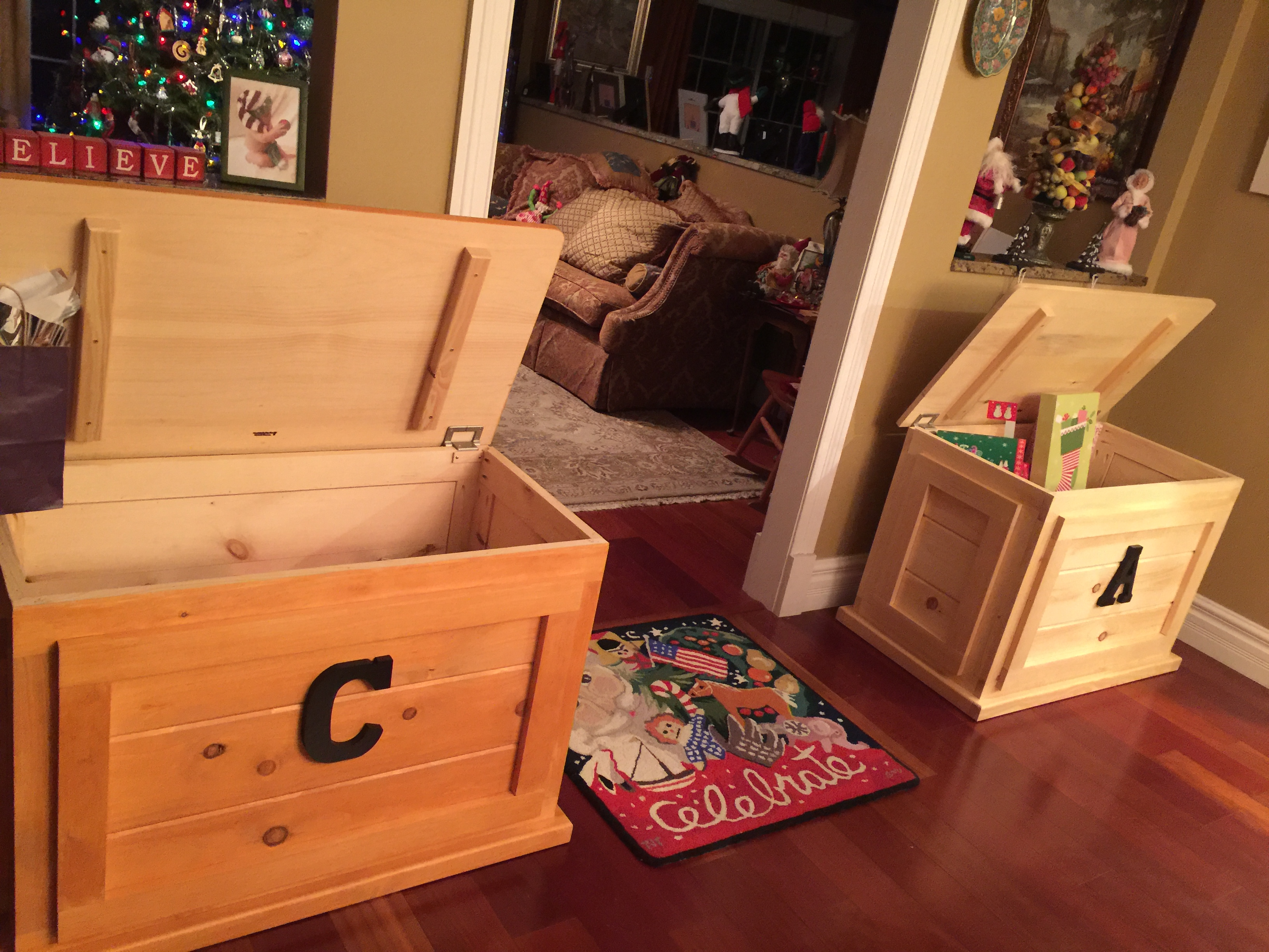 Toy Chests Wood Products Cutting Boards Butcher Blocks Hand Crafted By Eric
