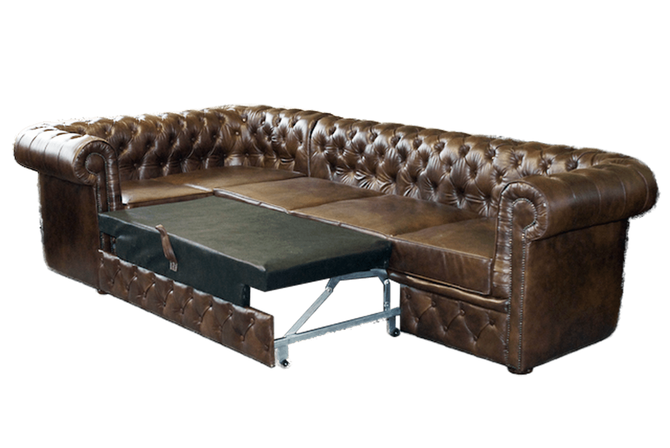 Chesterfield Ecksofa Weiss Chesterfield Ecksofa