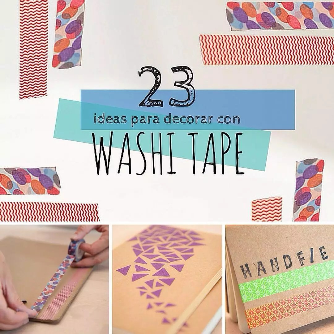Ideas Para Decorar Con Washi Tape Washi Tape 23 Ideas Geniales Para Decorar Handfie