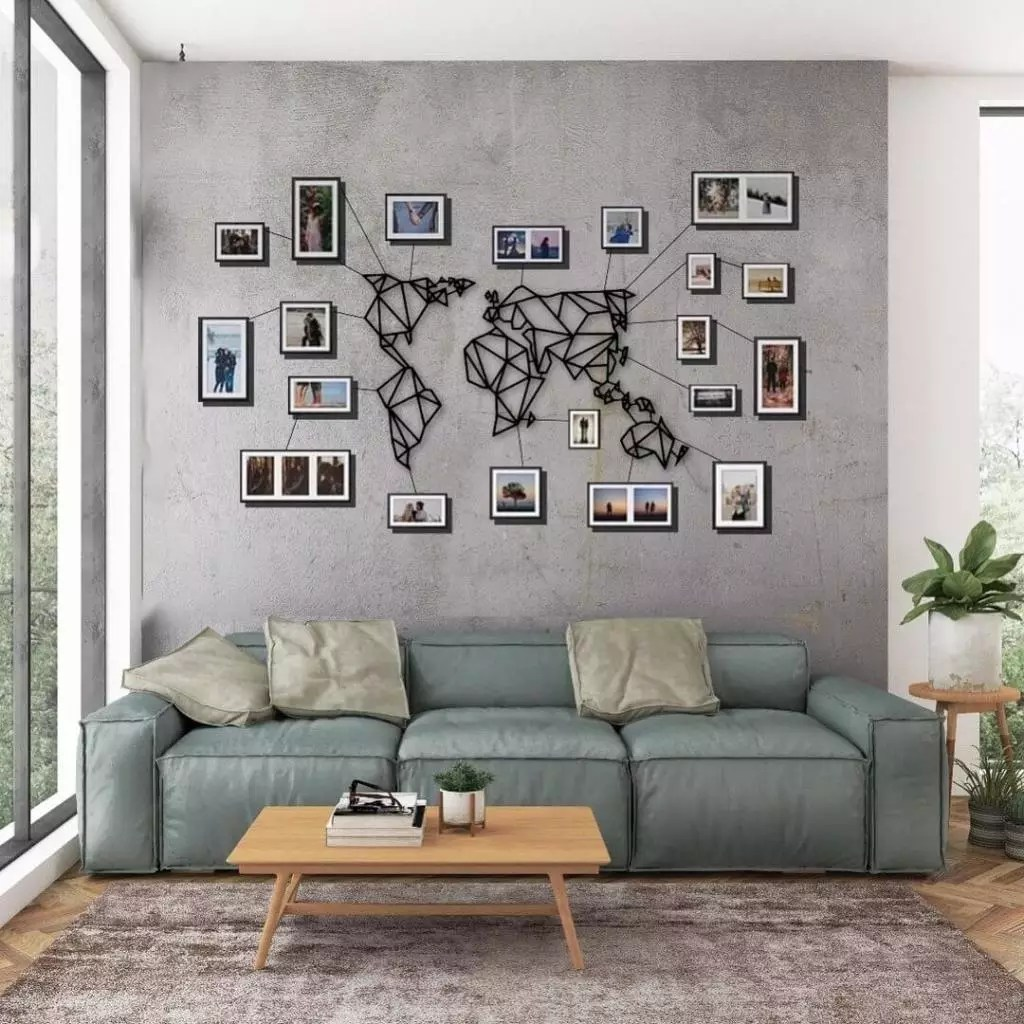 Hacer Cuadros Originales Para Salon Decorar Con Fotos La Pared 23 Estilos En Tendencia 2019 Handfie