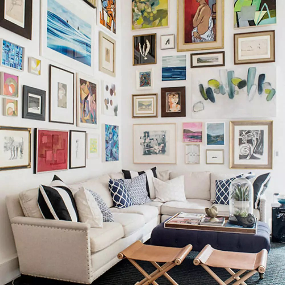 Collage De Fotos Para Dormitorios Decorar Con Fotos La Pared 23 Estilos En Tendencia 2019 Handfie