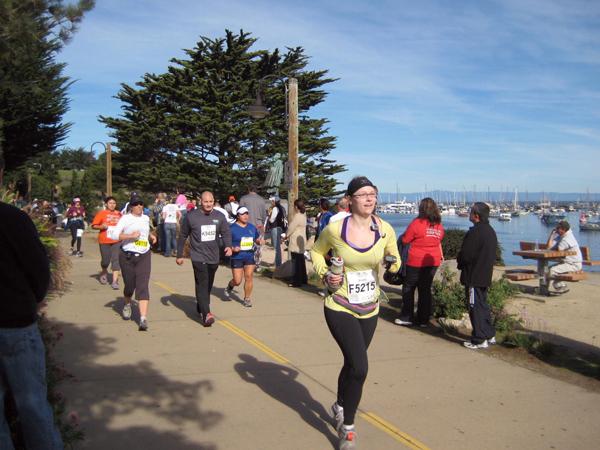 Nearing the finish