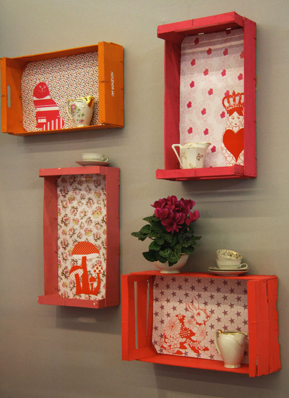Cajas Carton Decoradas Baratas How To Make 14 Wooden Crates Furniture Design Ideas