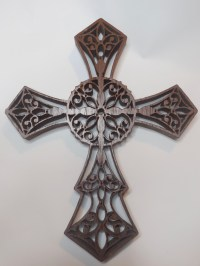 Peruvian walnut wall cross wall crucifix wall decor on ...
