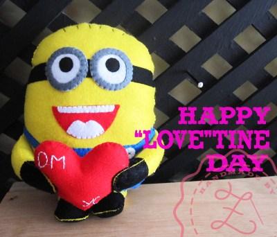 Minions Happy Valentine