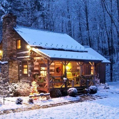 Real Snowflakes Falling Wallpaper What Are The Benefits Of Living In A Real Cabin