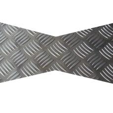 Checker plate bow-key